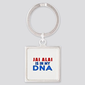 Jai Ala Is In My DNA Square Keychain