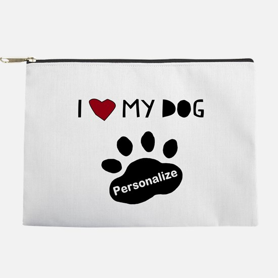 Personalized Dog Makeup Bag
