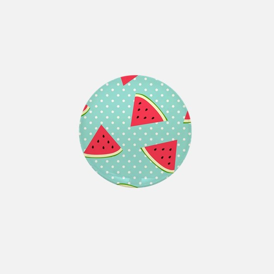 Watermelon Pattern Mini Button