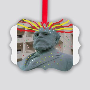 Crazy Garfield Ornament