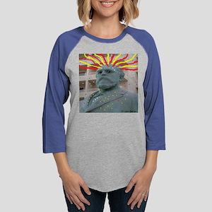 Crazy Garfield Long Sleeve T-Shirt