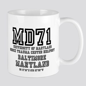 UNIVERSITY AIRPORT CODES - MD71 - UNIVERSITY Mugs