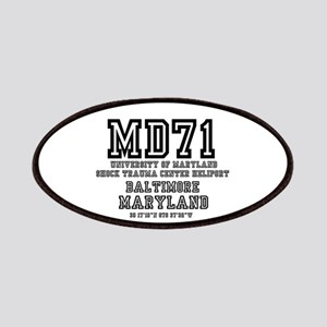 UNIVERSITY AIRPORT CODES - MD71 - UNIVERSITY Patch
