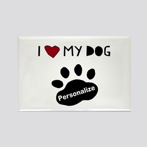 Personalized Dog Magnets