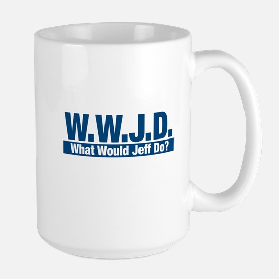 WWJD What Would Jeff Do? Mugs