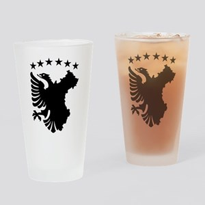 Shqipe - Autochthonous Flag Drinking Glass