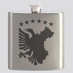 Shqipe - Autochthonous Flag Flask