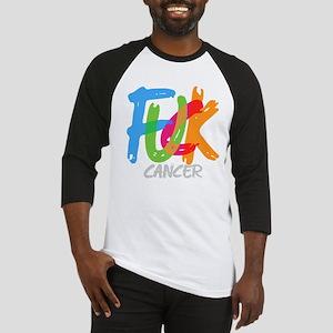 FUCK CANCER Baseball Jersey