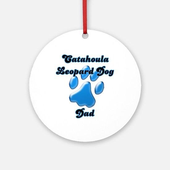 Catahoula Dad3 Ornament (Round)