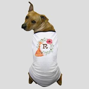 MONOGRAM Woodland Fox Dog T-Shirt