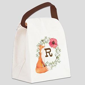 MONOGRAM Woodland Fox Canvas Lunch Bag