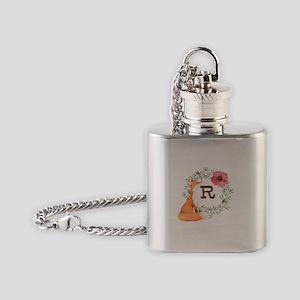 MONOGRAM Woodland Fox Flask Necklace