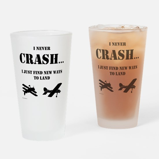 Unique Airplane Drinking Glass