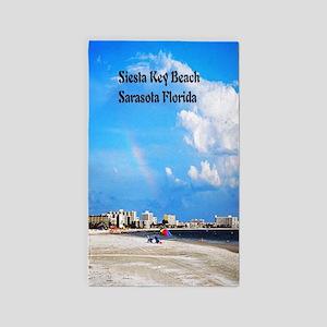 Siesta Key Beach Area Rug