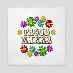 Proud Nanna Queen Duvet