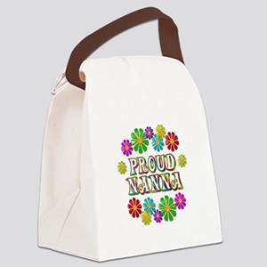 Proud Nanna Canvas Lunch Bag