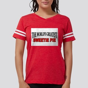 """The World's Greatest Sweetie Pie"" Ash Grey T-Shir"