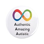 "Autism Pride, 3.5"" Button (100 Pack)"