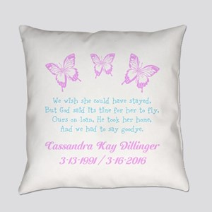 Personalize/Ours On Loan Everyday Pillow