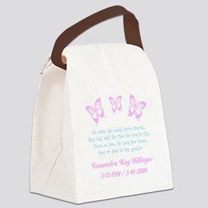 Personalize/Ours On Loan Canvas Lunch Bag