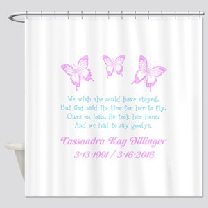 Personalize/Ours On Loan Shower Curtain