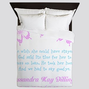 Personalize/Ours On Loan Queen Duvet
