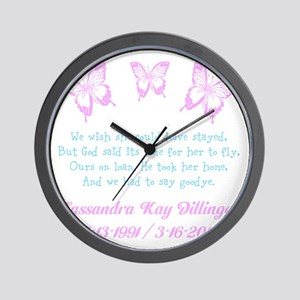 Personalize/Ours On Loan Wall Clock