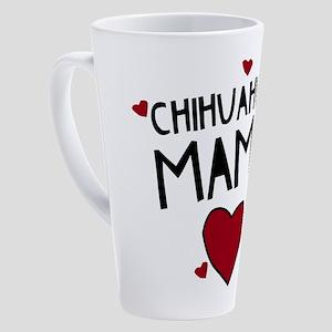 Chihuahua Mama 17 Oz Latte Mug