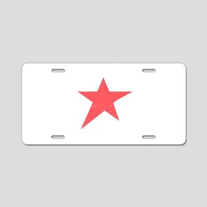 Caliche Star Aluminum License Plate