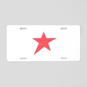 Caliche Star Aluminum License Plate