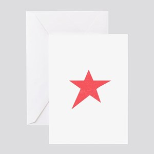 Caliche Star Greeting Cards
