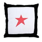Caliche Star Throw Pillow