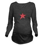 Caliche Star Long Sleeve Maternity T-Shirt