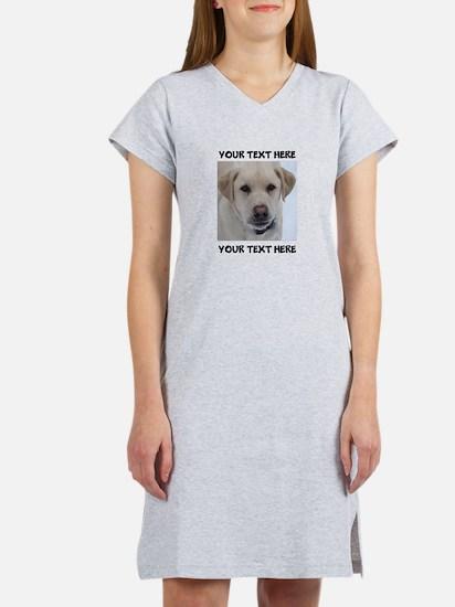 Dog Labrador Retriever Yellow Women's Nightshirt