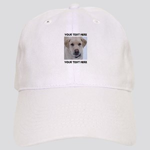Dog Labrador Retriever Yellow Cap