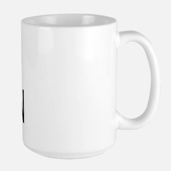 I Heart Satan Large Mug