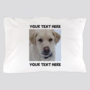 Dog Labrador Retriever Yellow Pillow Case