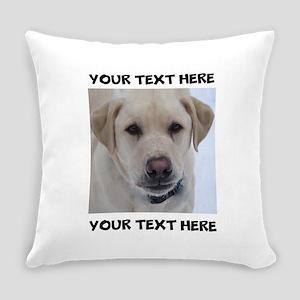 Dog Labrador Retriever Yellow Everyday Pillow
