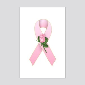 Breast Cancer Ribbon 2 Mini Poster Print