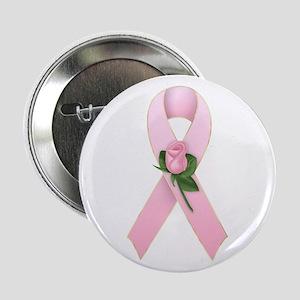 Breast Cancer Ribbon 2 Button