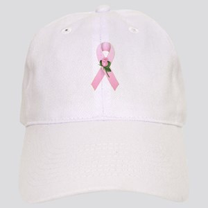 Breast Cancer Ribbon 2 Cap