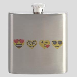 Emoji Love Faces Flask