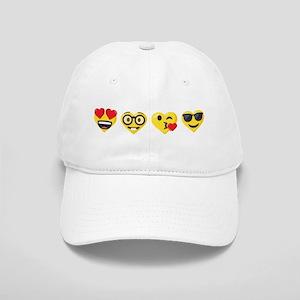 Emoji Love Faces Cap