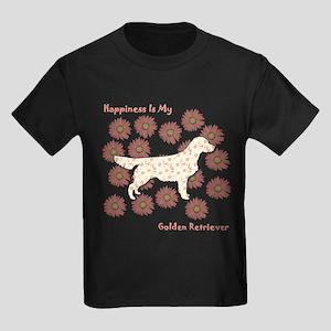 Golden Happiness Women's Dark T-Shirt