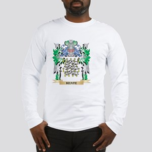 Keate Coat of Arms - Family Cr Long Sleeve T-Shirt