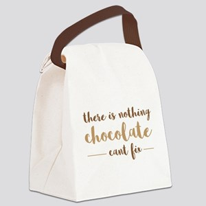 Chocolate Fix Canvas Lunch Bag