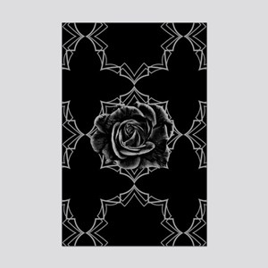 Black Rose On Gothic Posters