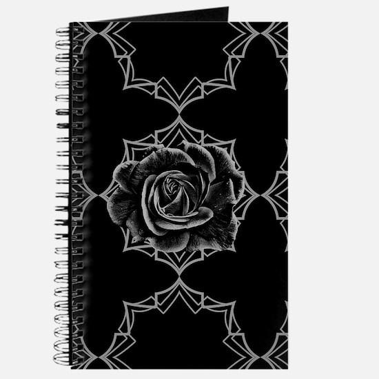 Black Rose On Gothic Journal