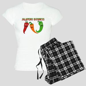 Jalapeno Business Women's Light Pajamas