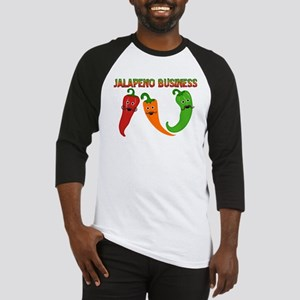 Jalapeno Business Baseball Jersey